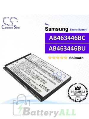 CS-SM2550SL For Samsung Phone Battery Model AB463446BC / AB463446BU