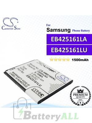 CS-SM8160XL For Samsung Phone Battery Model EB425161LU / EB425161LA