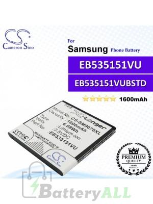 CS-SM9070XL For Samsung Phone Battery Model EB535151VU / EB535151VUBSTD