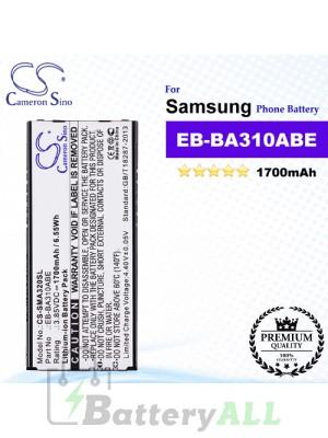 CS-SMA320SL For Samsung Phone Battery Model EB-BA310ABE / GH43-04562A
