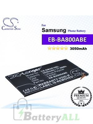 CS-SMA810SL For Samsung Phone Battery Model EB-BA800ABE