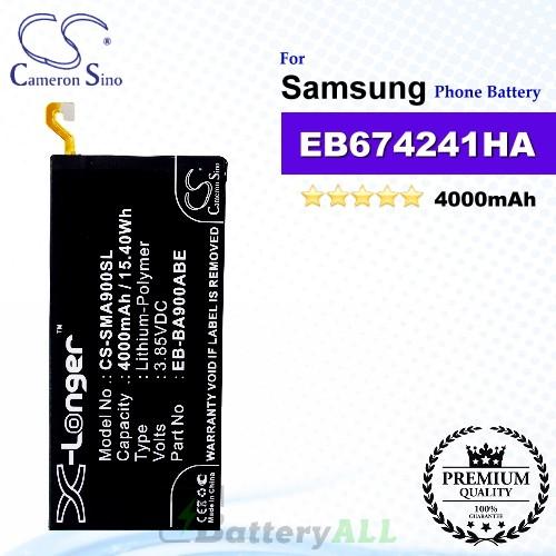 CS-SMA900SL For Samsung Phone Battery Model EB-BA900ABE