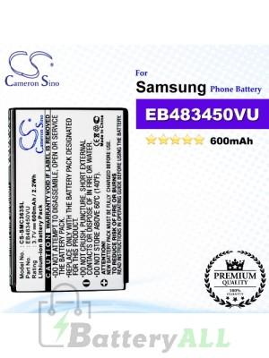 CS-SMC363SL For Samsung Phone Battery Model EB483450VU
