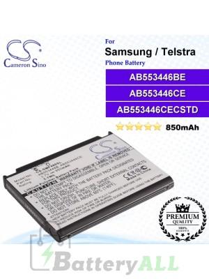 CS-SMF480SL For Samsung Phone Battery Model AB553446CA / AB553446CE / AB553446CEC / AB553446CUCSTD