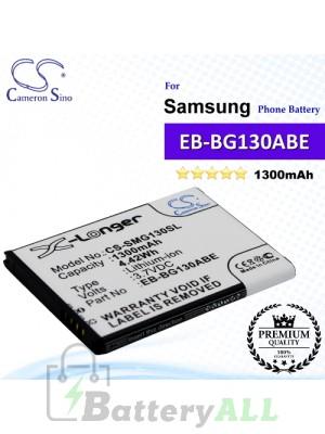 CS-SMG130SL For Samsung Phone Battery Model EB-BG130ABE / EB-BG130BBE