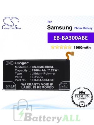 CS-SMG300SL For Samsung Phone Battery Model EB-BA300ABE / GH43-04381A / GH43-04381B