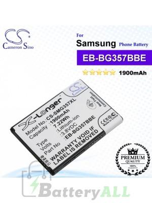 CS-SMG357XL For Samsung Phone Battery Model BG357BBU / BG357BBZ / EB-BG357BBE