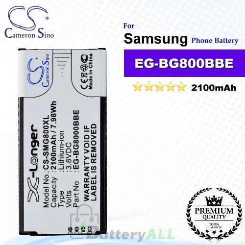 CS-SMG800XL For Samsung Phone Battery Model EB-BG800BBE / EG-BG800BBE