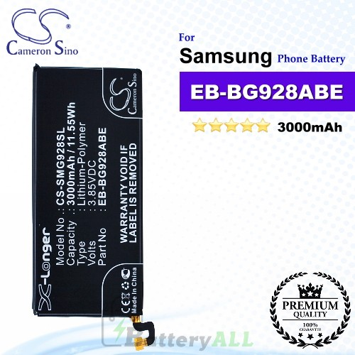 CS-SMG928SL For Samsung Phone Battery Model EB-BG928ABE / GH43-04526A / GH43-04526B