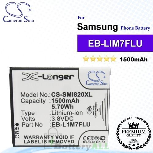 CS-SMI820XL For Samsung Phone Battery Model EB-F1M7LU / EB-L1M7FLU