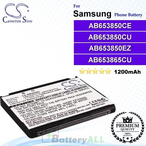 CS-SMI900SL For Samsung Phone Battery Model AB653850CE / AB653850CU / AB653850EZ / AB653865CU