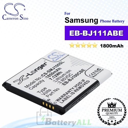 CS-SMJ110SL For Samsung Phone Battery Model EB-BJ111ABE / EB-BJ111FBK
