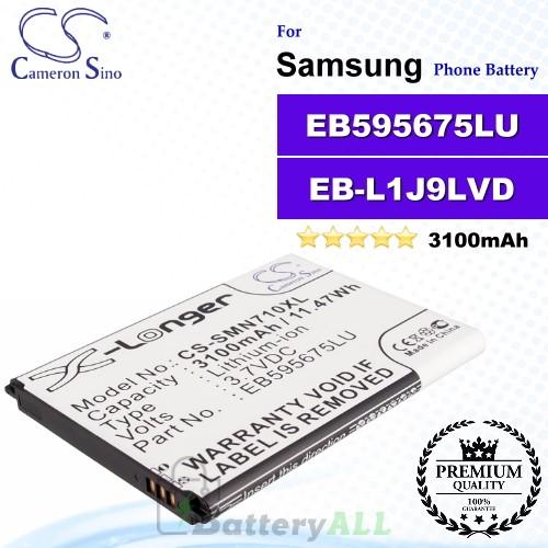 CS-SMN710XL For Samsung Phone Battery Model EB595675LU / EB-H1J9V