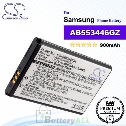CS-SMU350SL For Samsung Phone Battery Model AB553446GZ