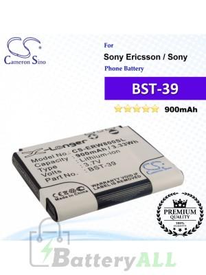 CS-ERW800SL For Sony Ericsson Phone Battery Model BST-39