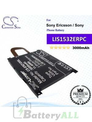 CS-ERZ120SL For Sony Ericsson / Sony Phone Battery Model LIS1532ERPC