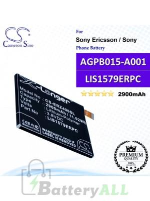 CS-ERZ400SL For Sony Ericsson / Sony Phone Battery Model AGPB015-A001 / LIS1579ERPC
