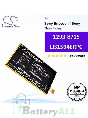 CS-ERZ510SL For Sony Ericsson / Sony Phone Battery Model 1293-8715 / LIS1594ERPC