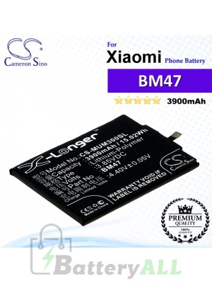CS-MUM300SL For Xiaomi Phone Battery Model BM47