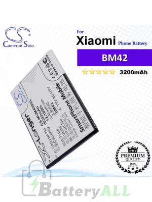 CS-MUM420XL For Xiaomi Phone Battery Model BM42