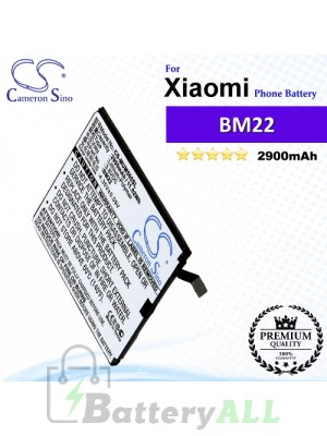 CS-MUM500SL For Xiaomi Phone Battery Model BM22