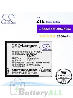 CS-ZTA430SL For ZTE Phone Battery Model Li3822T43P3h675053