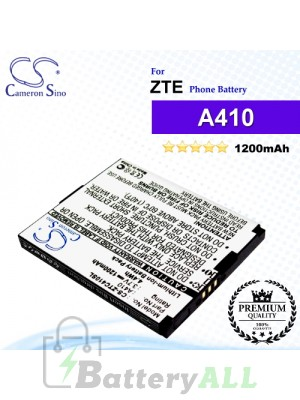 CS-ZTC410SL For ZTE Phone Battery Model A410