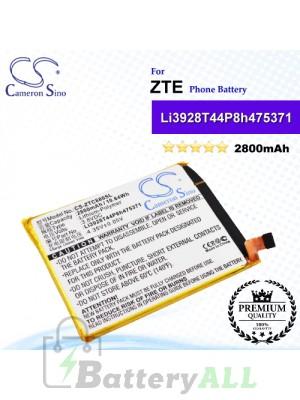 CS-ZTC880SL For ZTE Phone Battery Model Li3928T44P8h475371