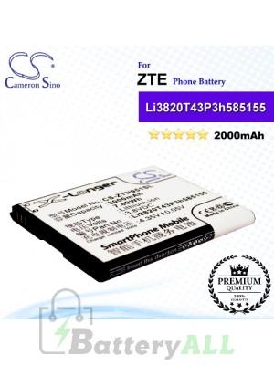 CS-ZTN951SL For ZTE Phone Battery Model Li3820T43P3h585155