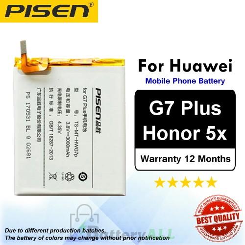 Original Pisen Battery For Huawei G7 Plus / Honor 5X Battery