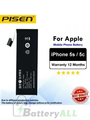 Original Pisen Battery For Apple iPhone 5s 5c Battery