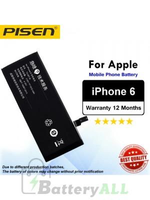 Original Pisen Battery For Apple iPhone 6 6g Battery