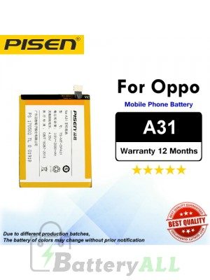 Original Pisen Battery For Oppo A31 Battery