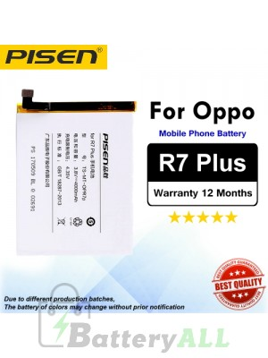 Original Pisen Battery For Oppo R7 Plus Battery