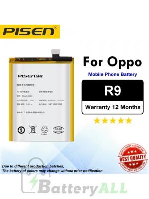 Original Pisen Battery For Oppo R9 Battery