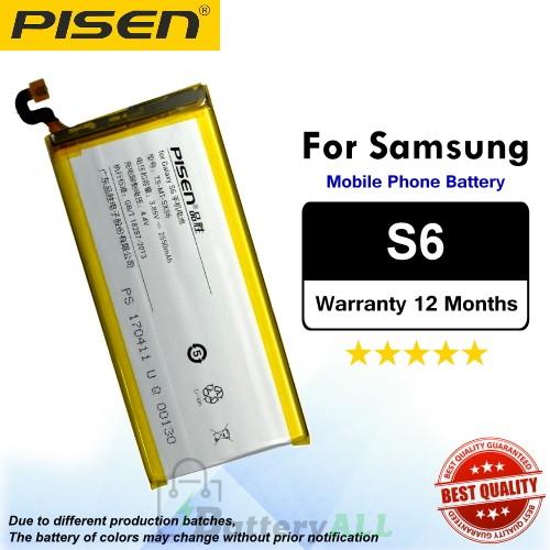 Original Pisen Battery For Samsung Galaxy S6 Battery