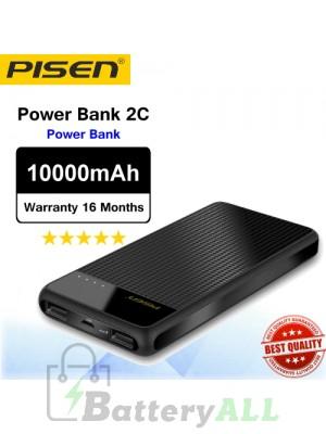 Original Pisen Power bank Power Bank 2C Portable PowerBank 10000mAh
