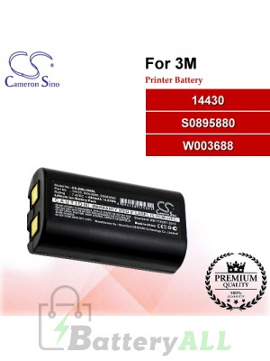 CS-DML260SL For 3M Printer Battery Model 14430 / S0895880 / W003688