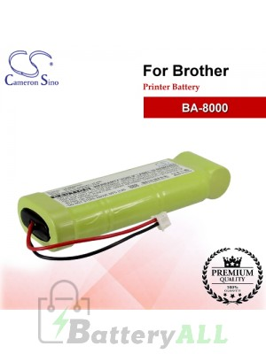 CS-PBA800SL For Brother Printer Battery Model BA-8000
