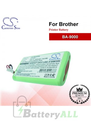 CS-PBA900SL For Brother Printer Battery Model BA-9000