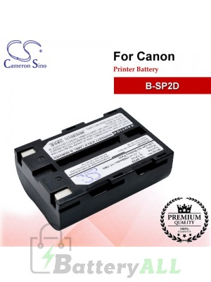 CS-SP25 For Canon Printer Battery Model B-SP2D