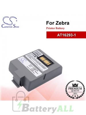 CS-ZBL420BL For Zebra Printer Battery Model AT16293-1