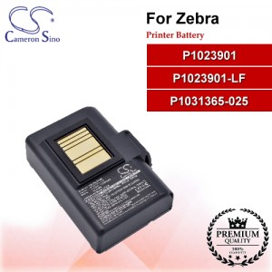 CS-ZQL220BL For Zebra Printer Battery Model P1023901 / P1023901-LF / P1031365-025