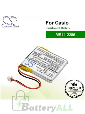 CS-PRT200SH For Casio Smartwatch Battery Model MR11-2286