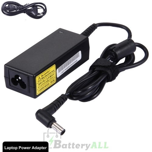 19.5V 2.3A 45W 6.5x4.4mm Laptop Power Adapter Charger with Power Cable for Sony VGP-AC19V67 / VGP-AC19V76 LA3005