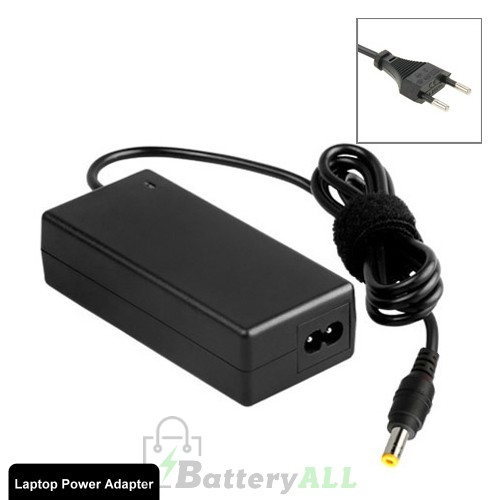 AC Laptop Power Adapter 19V 3.16A 60W for Toshiba Laptop Output 5.5x2.5mm S-LA-2701A