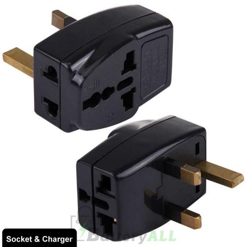 WDS-7 Portable Universal Plug to UK Plug Adapter Power Socket Travel Converter PC0650