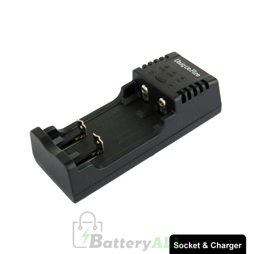 BC-U2 Universal Lithium Battery Charger with USB Output & Car Charger for 14500 14650 17670 18500 18650 18700 10440 16340 S-LIB-0002