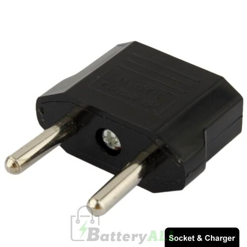 US to EU Plug Charger Adapter Travel Power Adaptor with Europe Socket Plug S-TC-1105