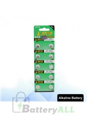 10 PCS AG1 / 364A 1.55V Alkaline Button Battery S-LIB-0302